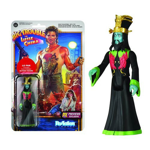 Funko Big Trouble in Little China ReAction Lo Pan Exclusive Action Figure [Glow-in-the-Dark]