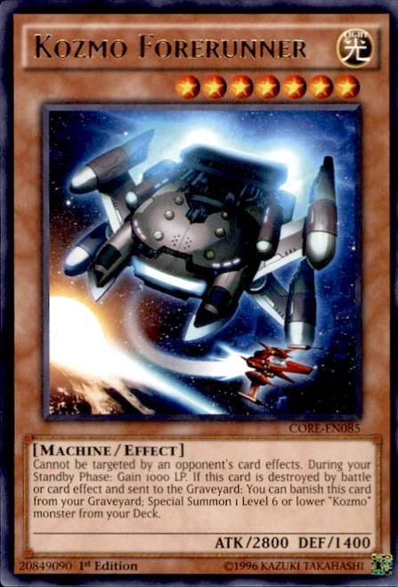 YuGiOh Clash of Rebellions Rare Kozmo Forerunner CORE-EN085