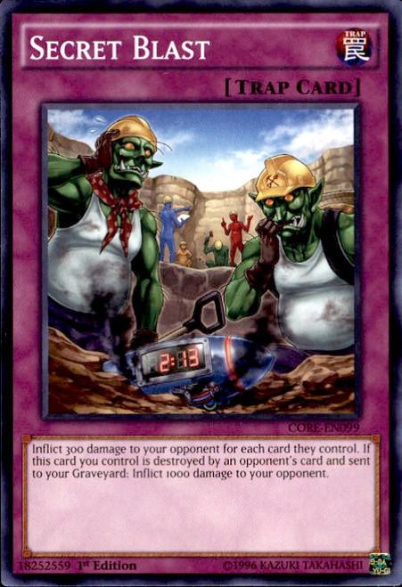 YuGiOh Clash of Rebellions Common Secret Blast CORE-EN099