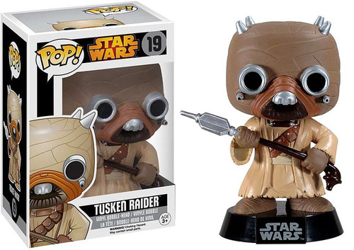 Funko POP! Star Wars Tusken Raider Vinyl Bobble Head #19 [Vaulted Edition]