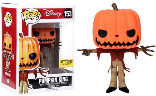 Funko Nightmare Before Christmas POP! Disney Pumpkin King Exclusive Vinyl Figure #153 [Glow-in-the-Dark]