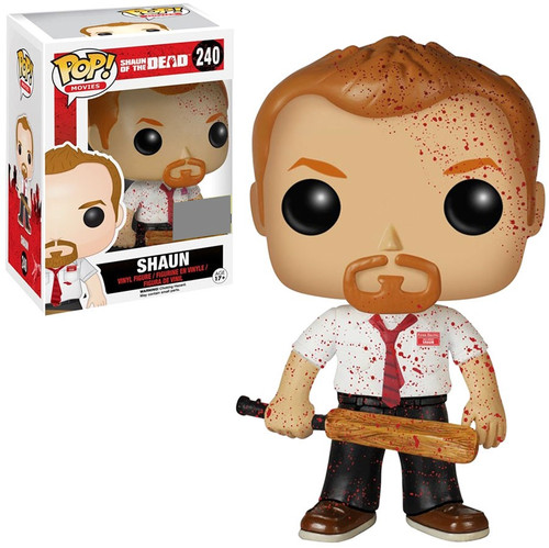 Funko Shaun of the Dead POP! Movies Shaun Exclusive Vinyl Figure #240 [Bloody Edition]