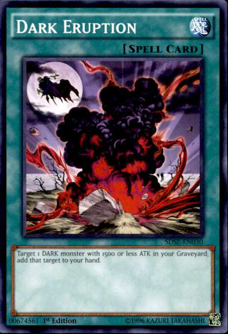YuGiOh Synchron Extreme Structure Deck Common Dark Eruption SDSE-EN030