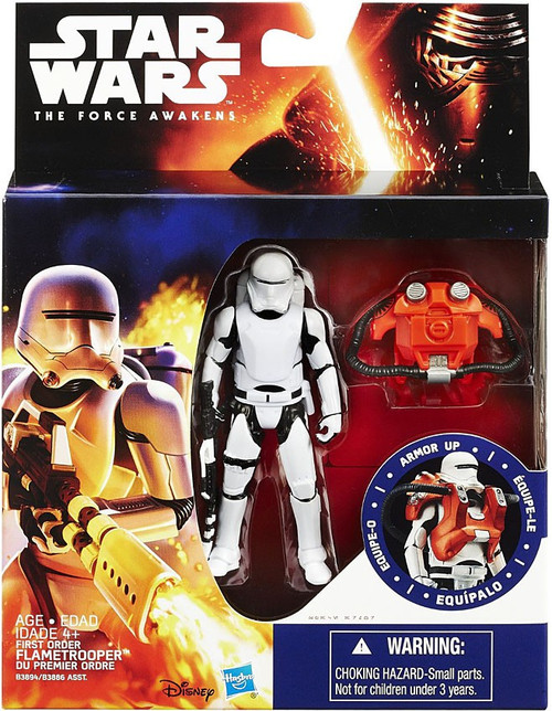 Star Wars The Force Awakens Mission Armor First Order Flametrooper Action Figures