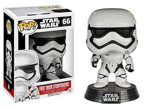Funko The Force Awakens POP! Star Wars First Order Stormtrooper Vinyl Bobble Head #66 [EP7]