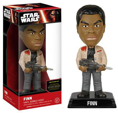 Funko Star Wars The Force Awakens Wacky Wobbler Finn Bobble Head [EP7]