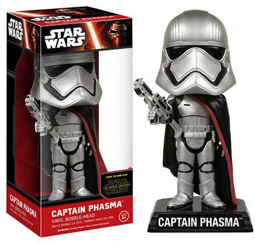 Funko Star Wars The Force Awakens Wacky Wobbler Captain Phasma Bobble Head [EP7]