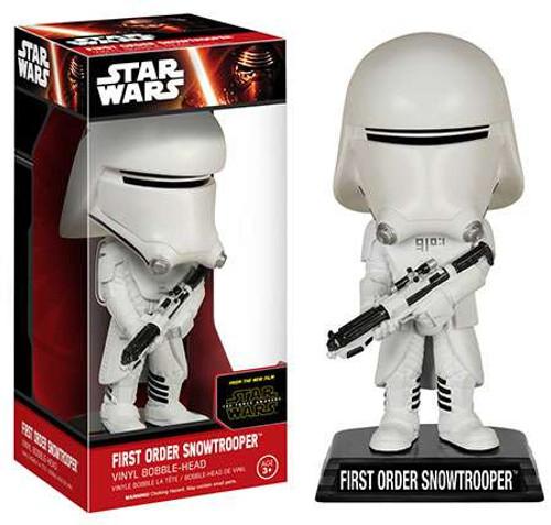 Funko Star Wars The Force Awakens Wacky Wobbler First Order Snowtrooper Bobble Head [EP7]