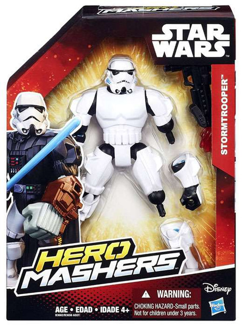 Star Wars The Force Awakens Hero Mashers Stormtrooper Action Figure