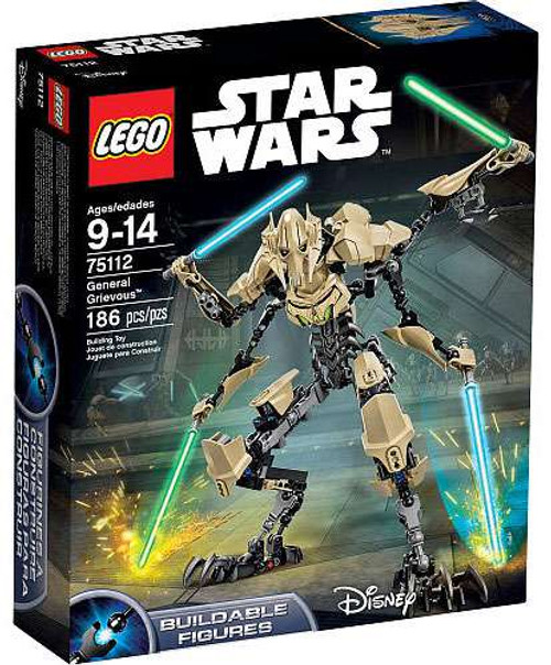 LEGO Star Wars General Grievous Set #75112