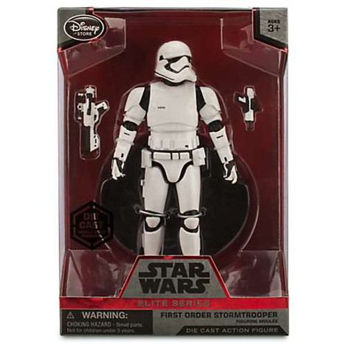 Disney Star Wars The Force Awakens Elite First Order Stormtrooper Exclusive 6.5-Inch Diecast Figure