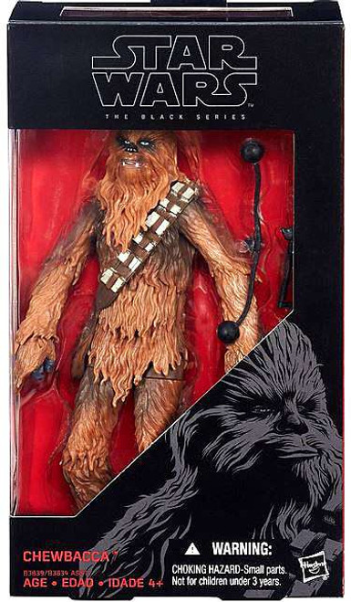 Star Wars The Force Awakens Black Series Chewbacca Action Figure