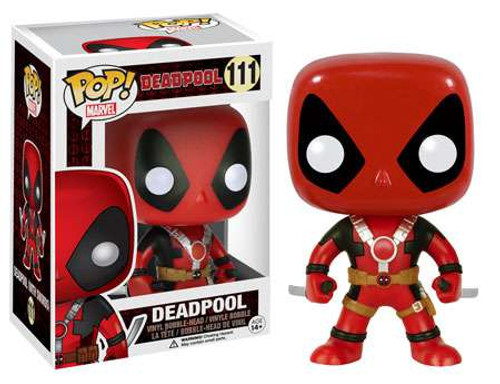 Funko POP! Marvel Deadpool Vinyl Bobble Head #111 [Two Swords]
