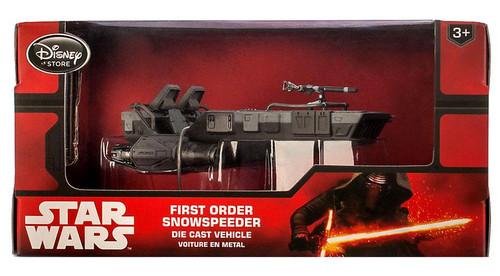 Disney Star Wars The Force Awakens First Order Snowspeeder Exclusive Diecast Vehicle