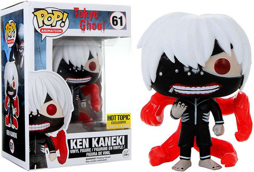 Funko Tokyo Ghoul POP! Anime Ken Kaneki Exclusive Vinyl Figure #61 [Glow-in-the-Dark]