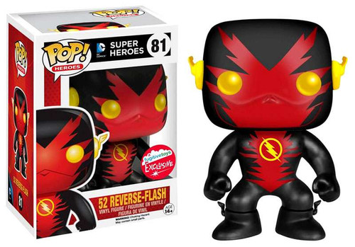 Funko The Flash CW TV Series POP! Heroes Reverse Flash Exclusive Vinyl Figure #81 [New 52]