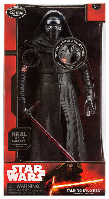 Disney Star Wars The Force Awakens Kylo Ren Talking Action Figure