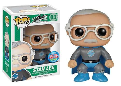 Funko Stan Lee Collectibles POP! Stan Lee Exclusive Vinyl Figure #03 [Grey Costume]