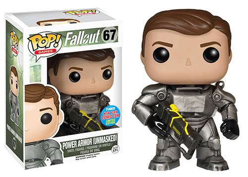Funko Fallout POP! Games Power Armor Exclusive Vinyl Figure #67 [Unmasked Male]
