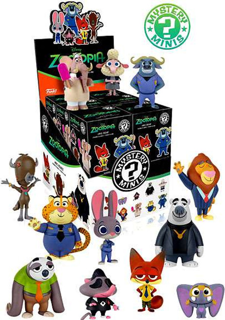 Funko Disney Mystery Minis Zootopia Mystery Box [12 Packs]