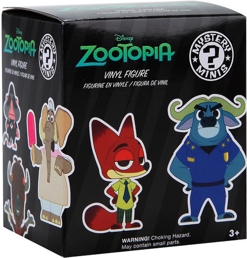 Funko Disney Mystery Minis Zootopia Mystery Pack