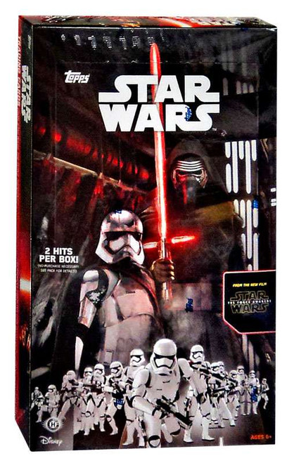 Star Wars The Force Awakens Series 1 Trading Card HOBBY Box