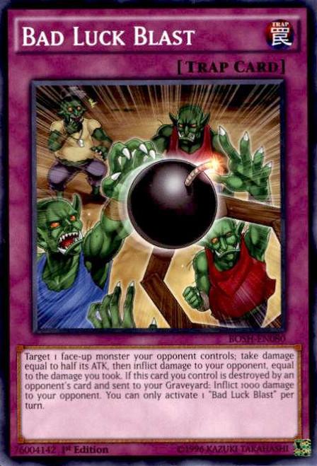 YuGiOh Breakers of Shadow Common Bad Luck Blast BOSH-EN080