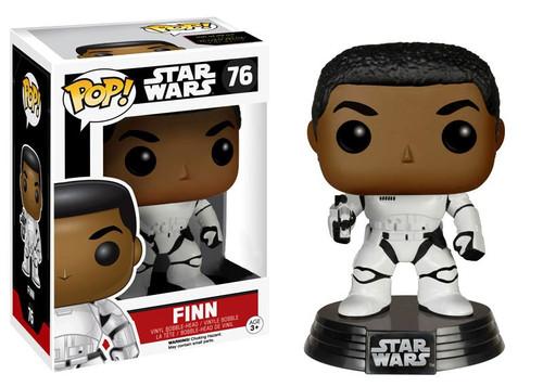Funko The Force Awakens POP! Star Wars Finn Exclusive Vinyl Bobble Head #76 [Stormtrooper Gear]