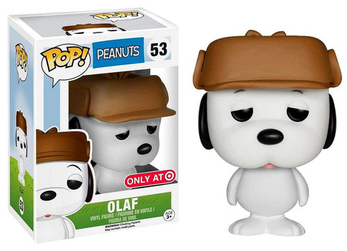 Funko Peanuts POP! TV Olaf Exclusive Vinyl Figure #53