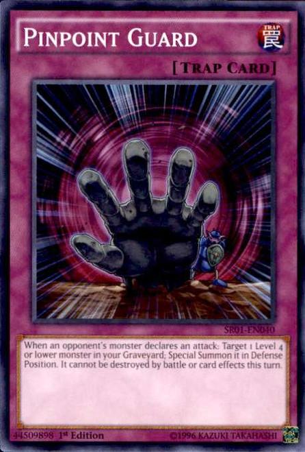 YuGiOh Emperor of Darkness Structure Deck Common Pinpoint Guard SR01-EN040