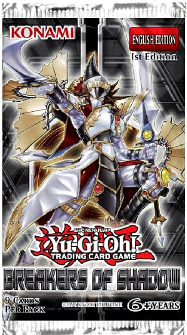 YuGiOh Trading Card Game Breakers of Shadow Booster Pack [9 Cards]