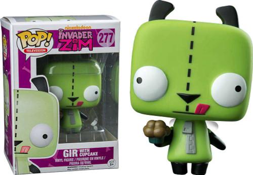 Funko Invader Zim POP! Animation Gir with Cupcake Vinyl Figure #277