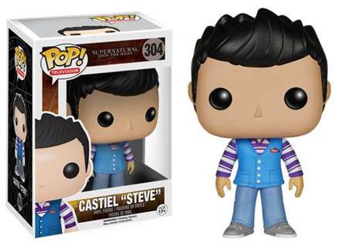 "Funko Supernatural POP! TV Castiel ""Steve"" Vinyl Figure #304"