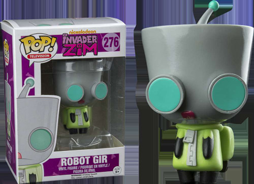 Funko Invader Zim POP! Animation Robot Gir Vinyl Figure #276
