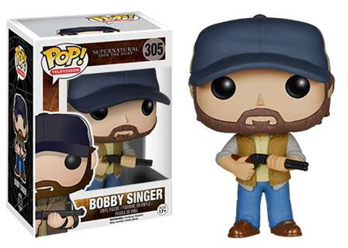 Funko Supernatural POP! TV Bobby Singer Vinyl Figure #305