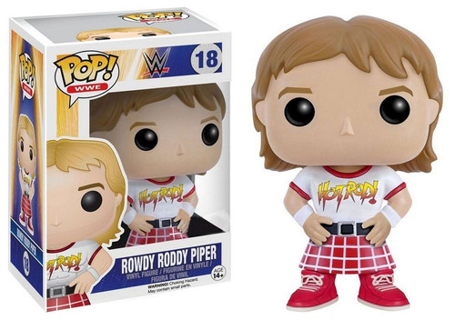 Funko WWE Wrestling POP! Sports Rowdy Roddy Piper Vinyl Figure #18