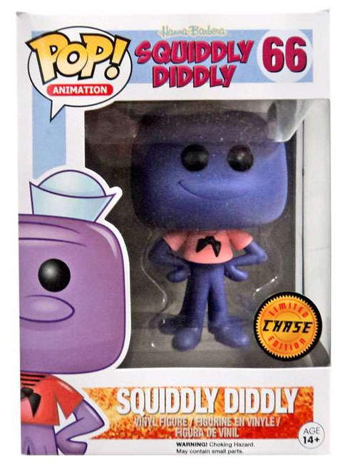 Funko Hanna-Barbera POP! TV Squiddly Diddly Vinyl Figure #66 [Chase Version]