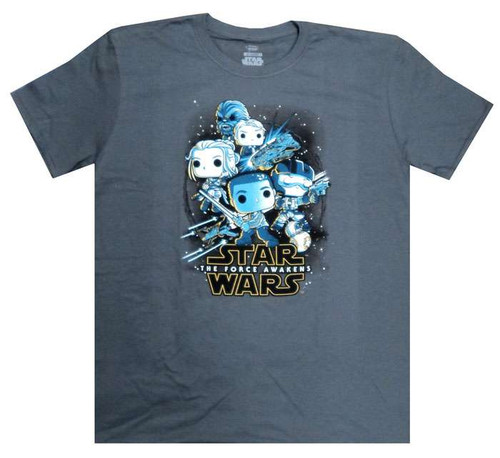 Funko The Force Awakens POP! Star Wars Resistance Rebels Exclusive T-Shirt [X-Large]