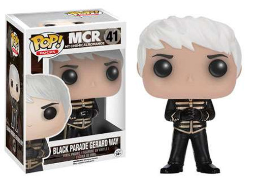 Funko My Chemical Romance POP! Rocks Black Parade Gerard Way Vinyl Figure #41