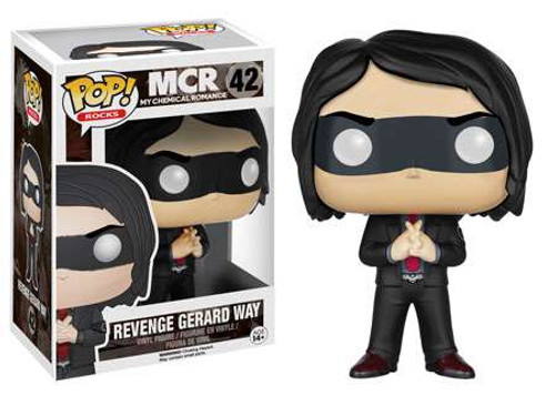 Funko My Chemical Romance POP! Rocks Revenge Gerard Way Vinyl Figure #42