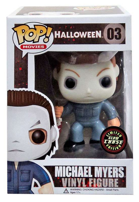 Funko Halloween POP! Movies Michael Myers Vinyl Figure #03 [Glow Chase Version]