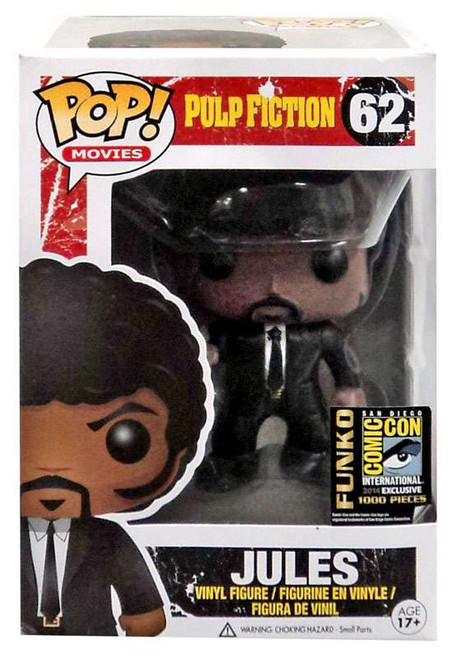 Funko Pulp Fiction POP! Movies Jules Exclusive Vinyl Figure #62 [Bloody]