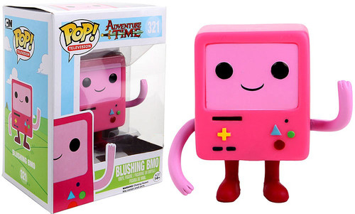Funko Adventure Time POP! TV Blushing BMO Exclusive Vinyl Figure #321