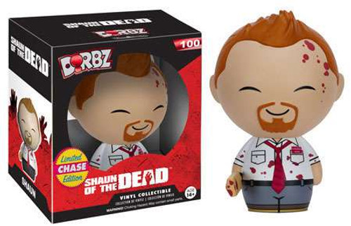 Funko Shaun of the Dead Dorbz Shaun Vinyl Figure #100 [Bloody, Limited Edition Chase]