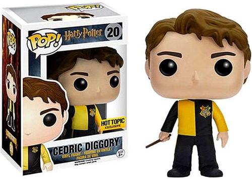 Funko Harry Potter POP! Movies Cedric Diggory Exclusive Vinyl Figure #20
