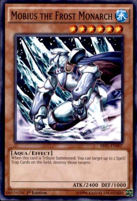 YuGiOh Emperor of Darkness Structure Deck Common Mobius the Frost Monarch SR01-EN007
