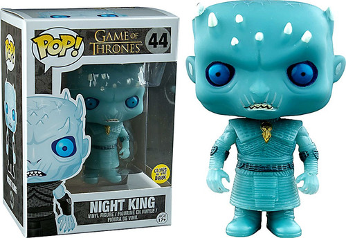 Funko Game of Thrones POP! TV Night King Exclusive Vinyl Figure #44 [Glow-in-the-Dark]