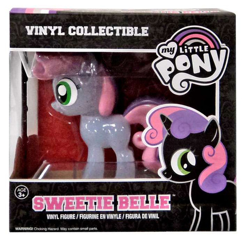 Funko My Little Pony Vinyl Collectibles Sweetie Belle Vinyl Figure [Translucent Glitter Variant]