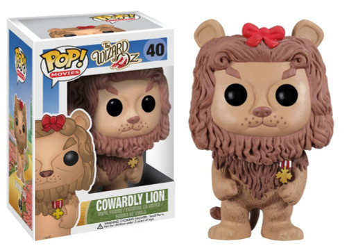 Funko The Wizard of Oz POP! Movies Cowardly Lion Vinyl Figure #40 [Loose]