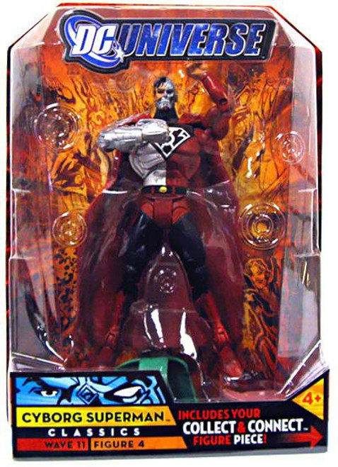 DC Universe Classics Wave 11 Cyborg Superman Action Figure #4